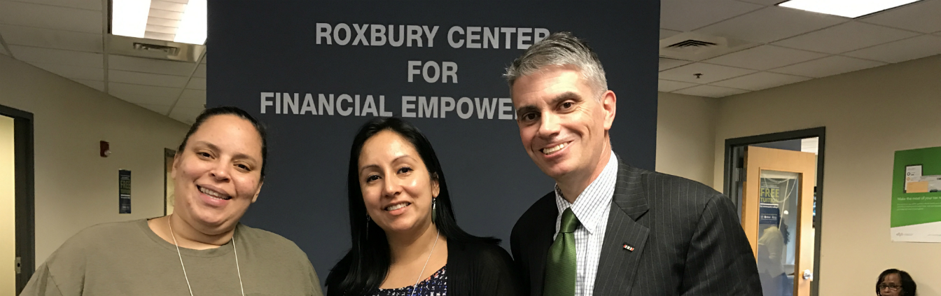 New post! BPDA Director Brian Golden visits one of Boston\'s busiest tax sites!